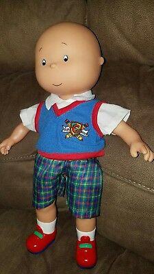 "CaillouTalking Doll English 15"" EUC Fun & Learn"