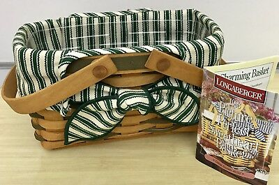 Longaberger Sweetheart Series Picture Perfect Basket Combo 1998