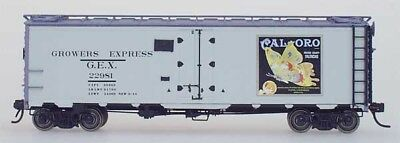 NY31011-03 YesterYear GEX Refrigerator CarGEX Cal-Oro Gray #2291