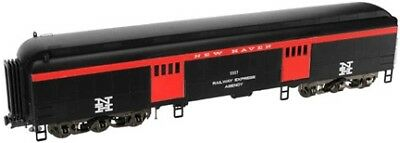 Atlas O 2001303-4 3 Rail 60' Baggage w/Interior Light & Details New Haven #5514