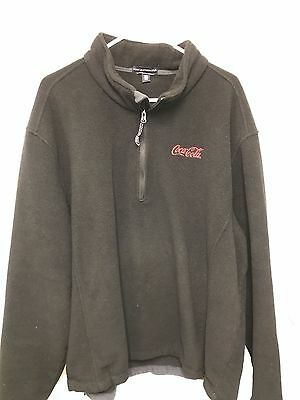 Coca Cola Fleece Light Jacket pullover - Size 3xl