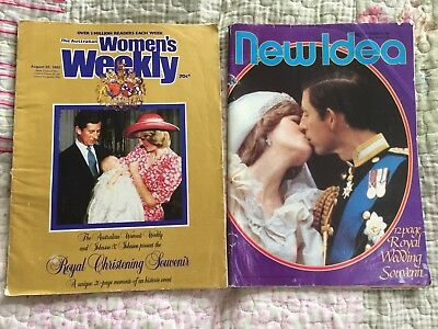 Women's Weekly & New Idea Magazine Prince Charles & Princess Diana