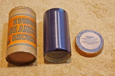 """Kaplans Melodists """"Home Sweet Home"""" Edison Blue Amberol Cylinder Record #5284"""