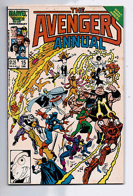 Avengers Annual #15 and #16, Marvel, 1986-87, F+ condition
