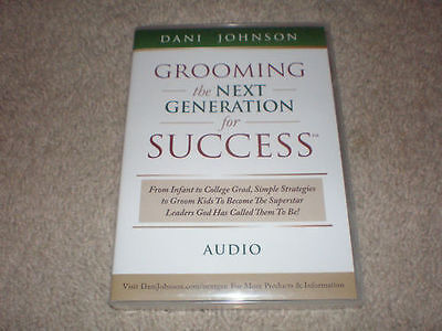 "Dani Johnson 5 CD Set ""Grooming The Next Generation For Success"""
