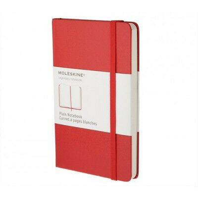 Moleskine Notebook, Large, Ruled, Red, Hard Cover (5 x 8.25) - 9788862930048