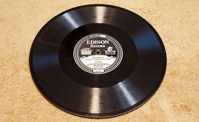 """Oreste Orch Edison Diamond Disc Record 52383 """"Ten Little Miles From Town"""" Nice"""