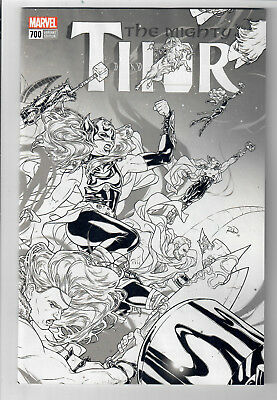 MIGHTY THOR #700 - NM - 1 in 100 Retailer Incentive variant cover!