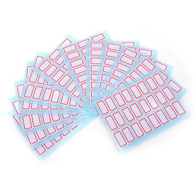 1Pack Self Adhesive Sticky White Label Writable Name Stickers Blank Note Label7Q