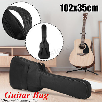 40'' Classical Acoustic Guitar Back Pack Carry Case Gig Bag Dual Strap Padded