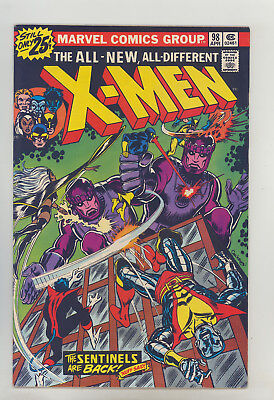 X-Men #98 FN Cockrum, Colossus, Wolverine, Storm, Cyclops, Nightcrawler