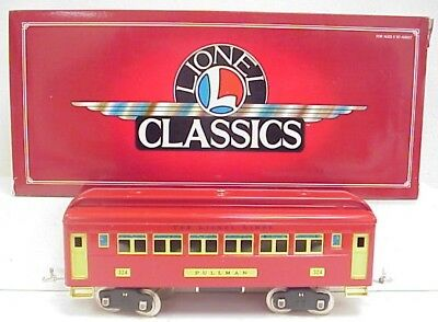 Lionel 6-13401 Tinplate 324 Pullman Car LN/Box