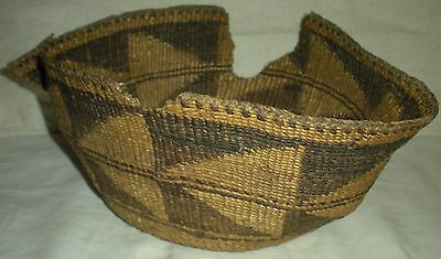 ANTIQUE c. 1850 PLAINS NATIVE AMERICAN INDIAN BASKET vafo