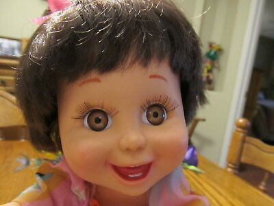 "Galoob Baby Face #3 Hispanic ""SO HAPPY HEIDI"" great condition, what a CUTEY!"