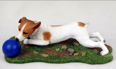 JACK RUSSELL TERRIER MY DOG  Figurine Statue Pet Lovers Gift Resin Hand Painted