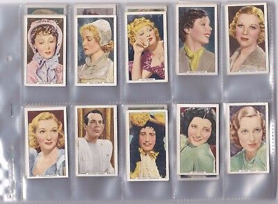 Cigarette Cards - My Favourite Part -Issued in 1939 - Full set of 48 cards