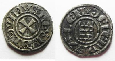ZURQIEH -aa8680- CHOICE QUALITY. DAVID'S TOWER: Crusaders, Latin Kingdom of Jeru