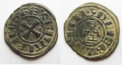 ZURQIEH -aa8704- Crusaders, Latin Kingdom of Jerusalem. Baldwin III (1143-1163).