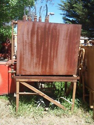 diesel fuel tank with electric pumps x 2