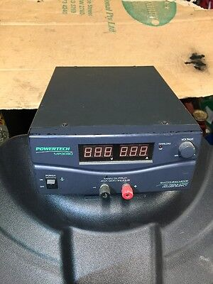 Powertech 3V to 15 Volt Variable DC 40 Amp Regulated Switchmode Power Supply