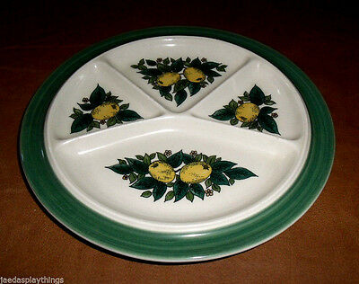 "Goebel SAVOY Plate Divided Buffet 9.25"" West Germany Fondue"