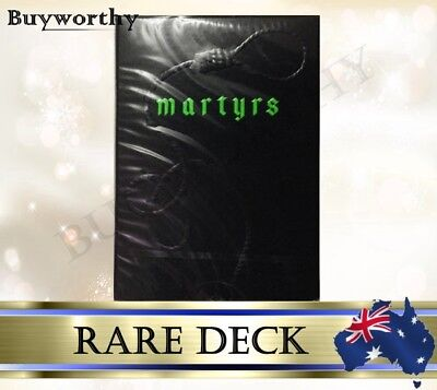 Martyrs Playing Cards Daniel Madison Rare Ellusionist Magic Poker Deck Brand New