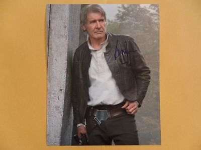 Harrison Ford 8x10 Autographed 'Indiana Jones' Photo
