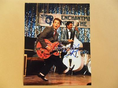 Michael J. Fox 8x10 Autographed 'Back to the Future' Photo