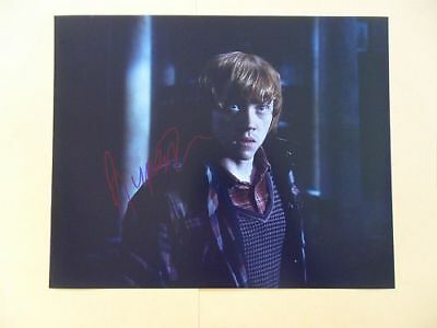 Rupert Grint Autographed 'Deathly Hallows' Photo