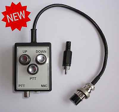 HEADSET / Electret Microphone to 8 pin KENWOOD Radio / Equalizer ADAPTER MIC HAM