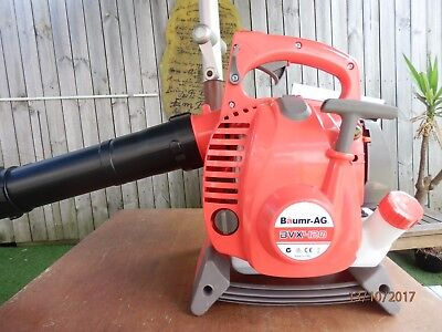 BAUMR-AG 4-Stroke Petrol Blower/Vacuum - Leaf Garden Commercial Hand Outdoor