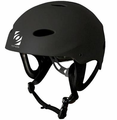 Typhoon Impact L Waterski Wakeboard Kayak Helmet Sports Protection Black