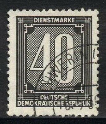 1956 DDR USED OFFICIAL STAMP (Michel # 4 XI)