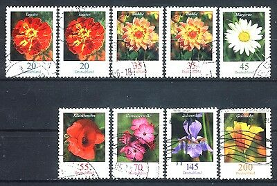 2005-2008 Brd Set Of 9 Used Stamps