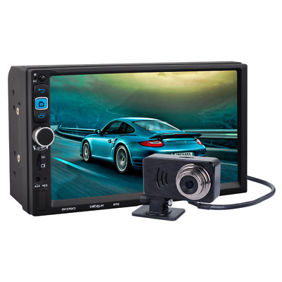 7''Capacitive Touch Screen HD 1080P In-dash GPS WIFI Navigation BT Android 5.1.1