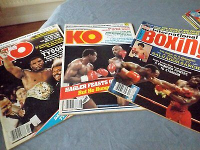 3 boxing magazines