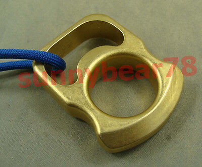 Brass Self-defense EDC Tactical Survival Escape Tool with lanyard +Bottle opener