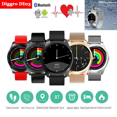 Diggro DI03 Siri Intelligent Montre Smart Watch Heart Rate Pour iPhone Android