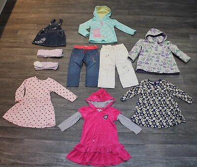 Large bundle of Girls Autumn/winter clothes - 2-3 years- M&S, Indigo, Tigerlily