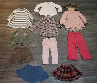 Large bundle of Girls Autumn/ winter clothes: 2-3 years - NEXT, Bluezoo etc