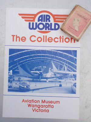 Aviation Museum Wangaratta Vic illustrated  Booklet