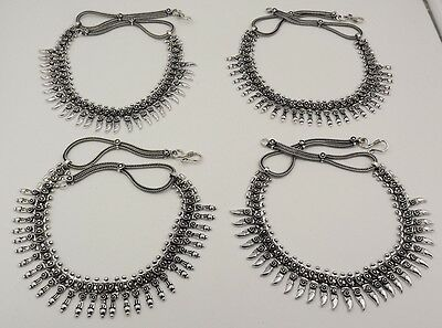 4Pcs. Lot Very Classic 925 Silver Overlay Adorable Designer Necklace KA9718