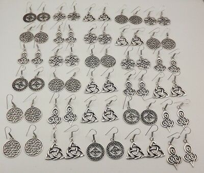 30 Pcs. Lot Fantastic 925 Silver Plated Very Special Antique Earring KA9847