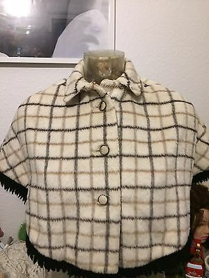 Vintage Girls Cape 1950/60s Betta  Kiddiecoats  True Vintage Suit Age 4-5