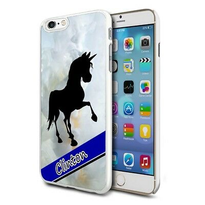 Personalised Premium Hard Case Cover for Mobiles - Grey Marble Horse 144