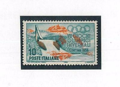 66169 - ITALY - WINTER OLYMPIC GAMES: Stamp with Printing Error