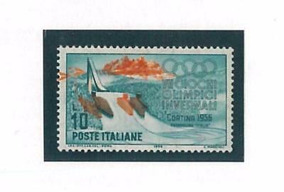 66168 - ITALY - WINTER OLYMPIC GAMES: Stamp with Printing Error
