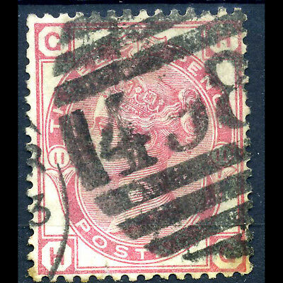 GREAT BRITAIN 1873-80 3d Rose. Plate 11. SG 143. Good Used. (AB340)