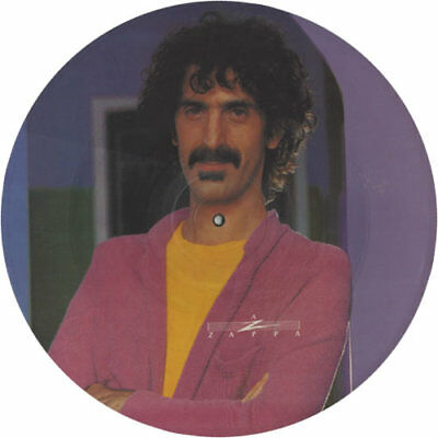 """Frank Zappa You Are What You Is UK 12"""" vinyl picture disc record A111622 CBS"""