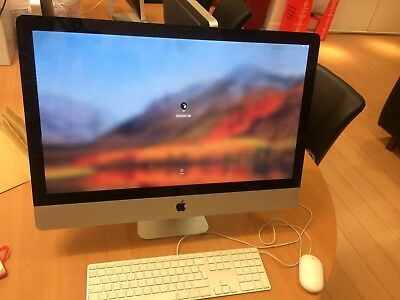 "Apple iMac 12GB A1312 27"" MB953LL/A - LATE 2009 - Screen damaged"